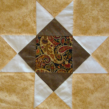 The Ohio Star Quilt Block Is A Nine Patch Matt And Shari