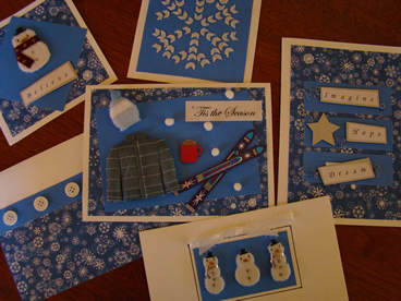 Scrapbook Greeting Cards