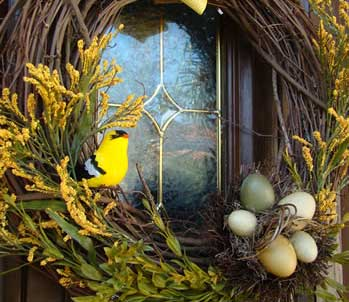 Decorating_springwreath_springwreath1