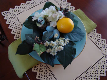 Spring Nest Place Setting
