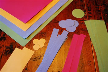 Easy Kids Spring Crafts From Construction Paper Matt And Shari