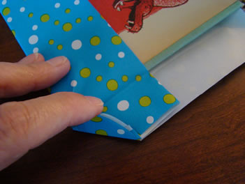 Covering a book step 6 - MattandShari.com