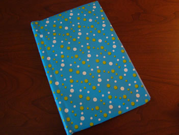 Covering a book step 9 - MattandShari.com