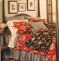 Red, Black and White Bedding - MattandShari.com
