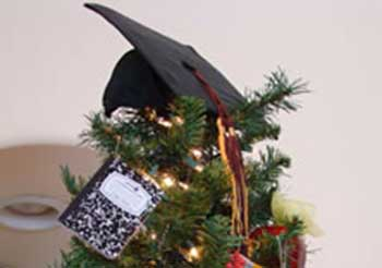 september is a back to school tree - Year Round Christmas Tree