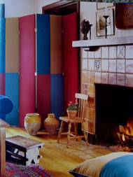 Blue, Red and Yellow Color Scheme - MattandShari.com