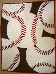 Fantastic Baseball Quilt How To - MattandShari.com
