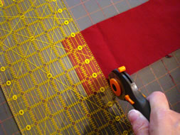 Cutting Out the Baseball Stitching - MattandShari.com