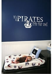 pirates life nursery