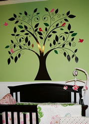 whimsical tree nursery