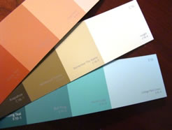 Paint Selection For Inspiration Piece - MattandShari.com