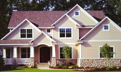 Follow These Steps to Choose Exterior House Colors - Matt and Shari - Red Roof Exterior Wall Colour Combinations