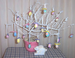 Beaded Easter Egg Tree