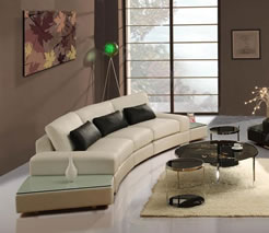 Contemporary Style Living Room - MattandShari.com