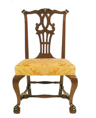 Traditional Chippendale Chair - MattandShari.com