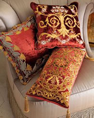 Ornate Traditional Style Pillows - MattandShari.com