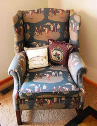 Old Fashioned Themed Chair - MattandShari.com