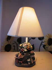 Hide the Lamp Shade Seam Please - MattandShari.com