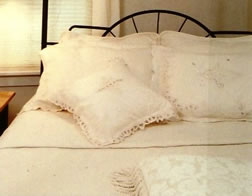 All White Bedding - MattandShari.com