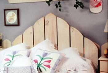 Picket Fence Headboard
