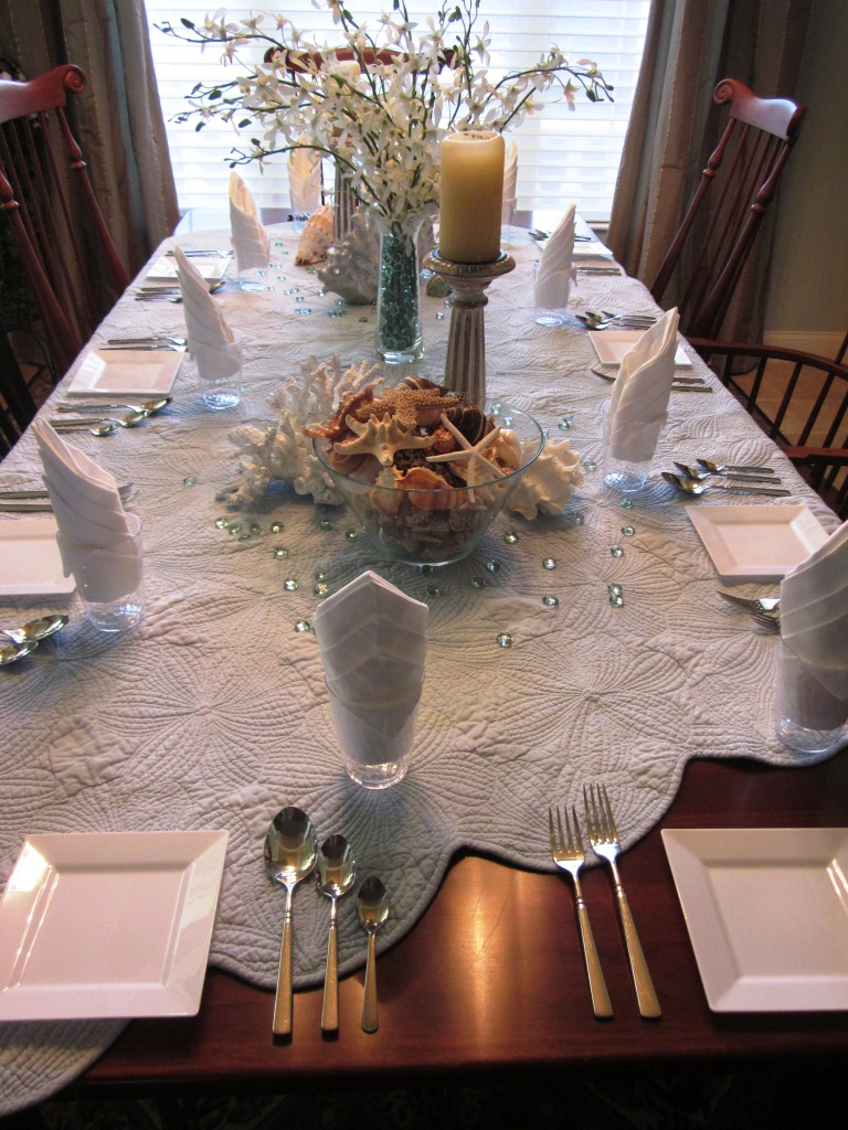 Tasting Party Table Setting