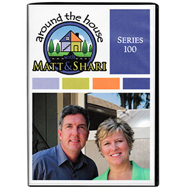 Around the House with Matt and Shari season 1 DVD