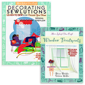 Decorating Sewlutions and Window Treatments Bundle