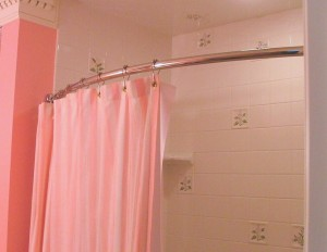 Moen Curved Shower Rod