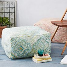 Pouf from West Elm