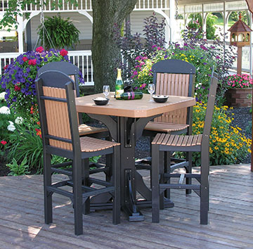 Table and Chair set from Carefree Poly Furniture