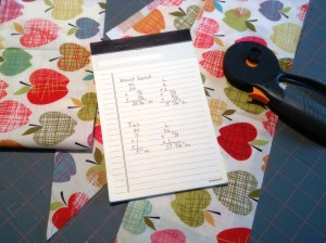 Apron Waistband and Tie Calculations