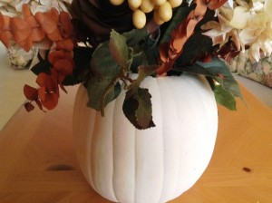 Autumn Centerpiece Bare Edges - MattandShari.com