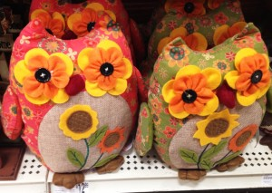 Fall Birds - Crafty Owls