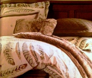 Fall Birds - Feather Bedding