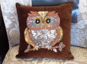 Fall Birds - Sequined Owl