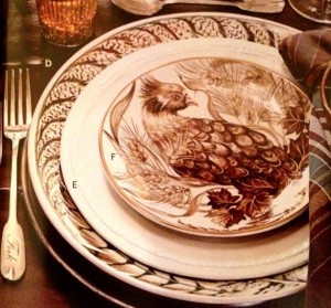 Fall Birds - Grouse Plate
