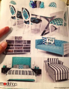 Fall Trends Teal Furnishings - MattandShari.com