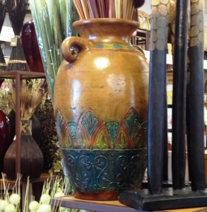 Fall Trends Gold in Pottery - MattandShari.com