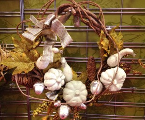 Glittery Grapevine Wreath