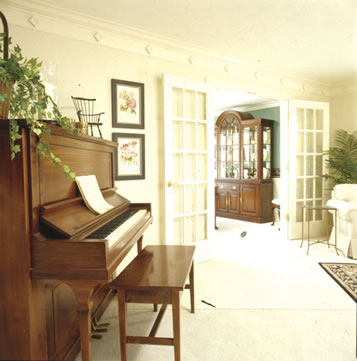 Angle Your Furniture For A Designer Look Matt And Shari Upright Piano In Living Room Layout