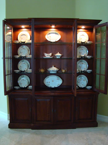 china cabinet decorating ideas the of accessorizing a china cabinet matt and shari 13546