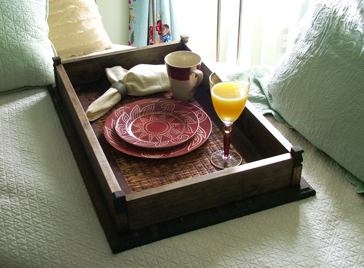 This Tray Is Perfect For Serving Breakfast In Bed On Those Special Occasions Or As A Terrific Decorative Display That Can Be Placed An Oversized